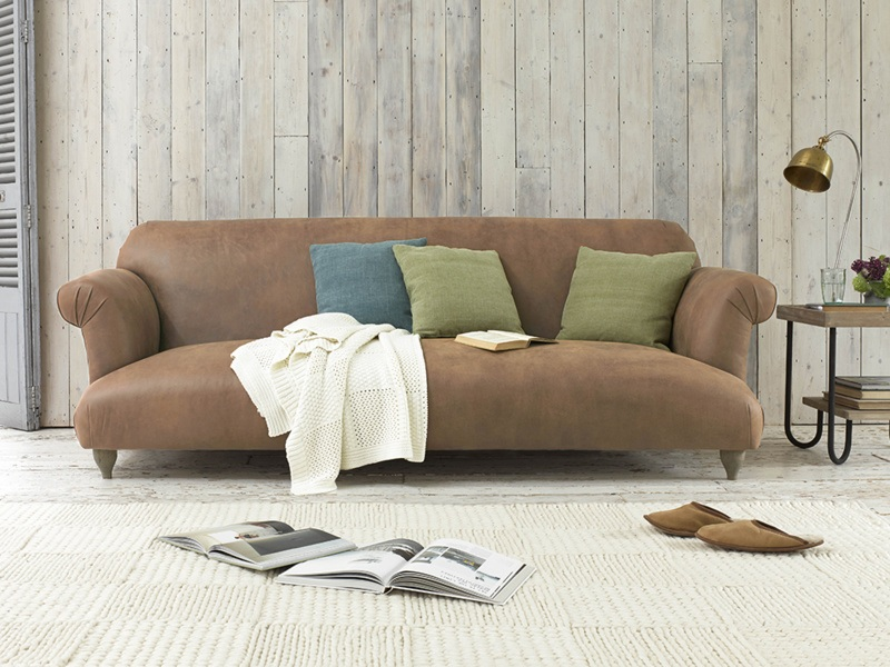 Leather Lounging - Sofa Guide