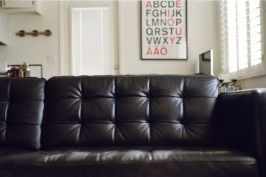 Laidback Leather Lounging - Sofa Guide