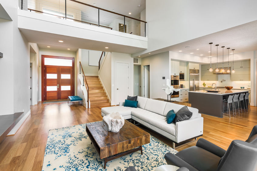 Flooring Choices For Open Plan Living The Idealist
