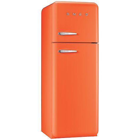 Fridge Freezer Combo Orange