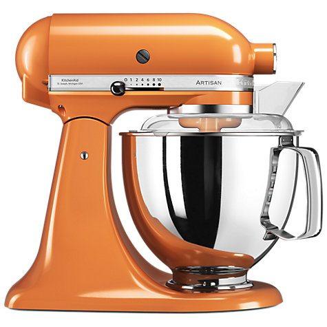 Kitchen Aid Mixer Orange