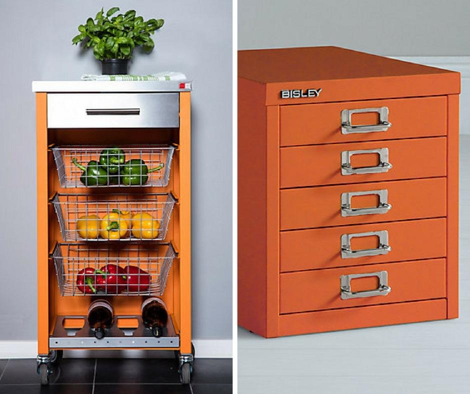 Orange Kitchen - Extra Touches