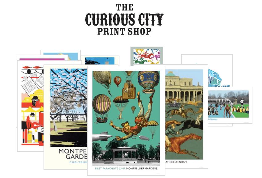 Curious City Print Shop Cheltenham